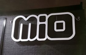 Illuminated letters MIO