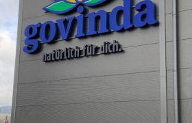Illuminated letters govinda